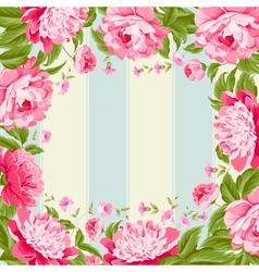 Luxurious flower wallpaper vector
