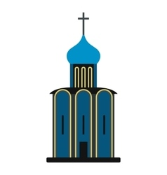 Orthodox church icon vector