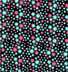 Star seamless pattern vector