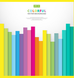 summer colorful striped vertical line pattern vector image