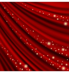 Theater curtain Mesh vector image