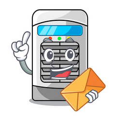 With envelope air cooler at character table vector