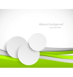 Abstract brochure vector image vector image