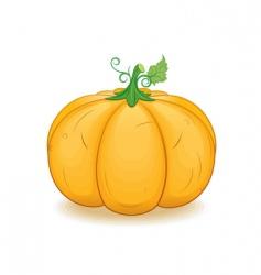 pumpkin cartoon vector image vector image