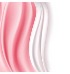 pink silky background vector image