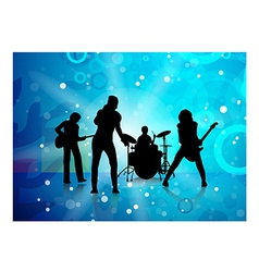 band vector image