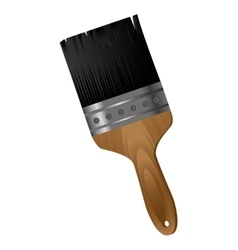 brush paint isolated icon vector image