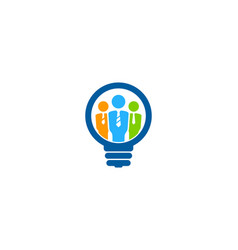 Creative job logo icon design vector