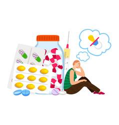 fertility treatment concept vector image