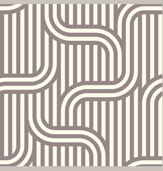 seamless striped abstract pattern background vector image vector image