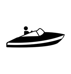 jet ski design vector image