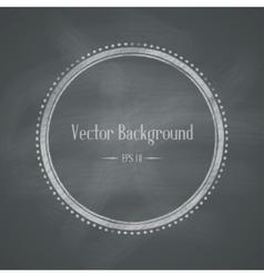 Chalkboard retro background vector