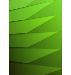Green layer business folder mock up template vector image