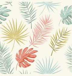 Summer retro pattern vector
