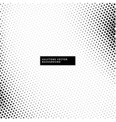 Abstract dotted halftone background vector