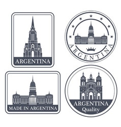 Argentina vector image