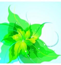 EPS10 flower background vector image