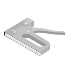 Furniture stapler steel repair tool stapler gun vector