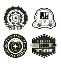 industry automotive auto service vector image