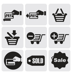 Payment icons vector