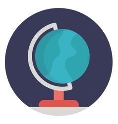 Table globe vector