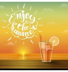 lemonade on the horizon vector image