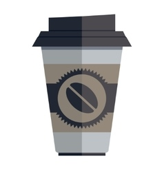 Coffee Container vector image vector image