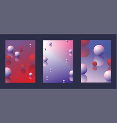 abstract background made with bright gradients vector image