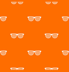 Black pinhole glasses pattern seamless vector
