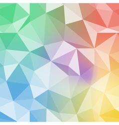 Brilliant pattern Diamond triangle background vector image