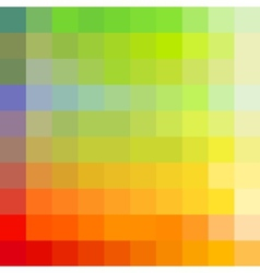 Colorful rainbow mosaic background vector image