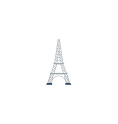 flat icon eiffel element of vector image
