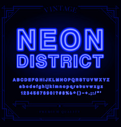 Font tmp vector