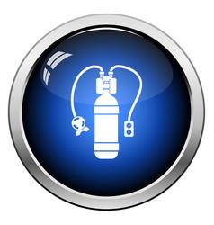 Icon of scuba vector