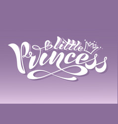 little princess 1 vector image