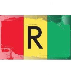 Rwanda national flag vector image