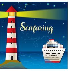 Seafaring vector