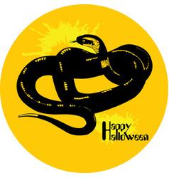 Snake halloween vector