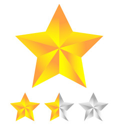 star icon for rating ranking quality concepts vector image
