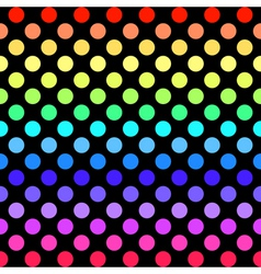 Colorful seamless geometric pattern vector image