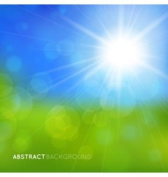 Abstract background with bright effects vector