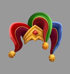 joker hat vector image