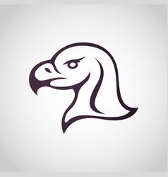 eagle logo icon vector image