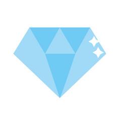 isolated diamond design vector image