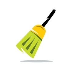 Broom Cartoon vector image