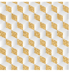 Abstract background with gold dust and shadows vector