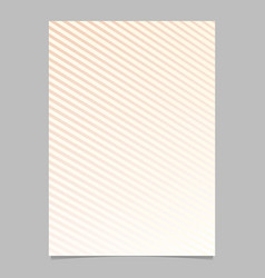 abstract geometric gradient stripe brochure vector image