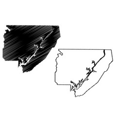 Jackson county alabama counties in alabama united vector