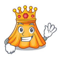 King skirt in a on character beautiful vector
