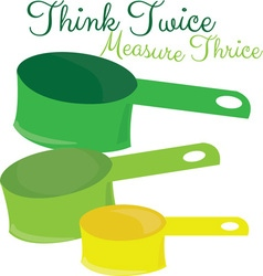 Measure Twice vector